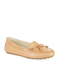 Michael Michael Kors Daisy Leather Moccasin Tan