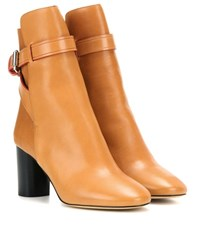 Isabel Marant Reaves Leather Boots Brown