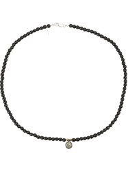 Catherine Michiels Ebony Beaded Bracelet Black