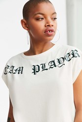 Silence And Noise Team Player Muscle Tee Ivory