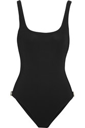 Orlebar Brown Cottesloe Open Back Swimsuit Black
