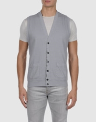 Maesna Sweater Vests Grey