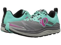 Pearl Izumi Em Trail N3 Smoked Aqua Mint Women's Running Shoes Gray