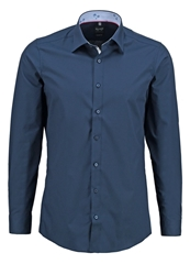 Olymp Level 5 Body Fit Formal Shirt Dunkelblau Dark Blue