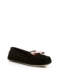 Ted Baker Suede Slippers Sarsone Black