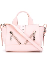 Kenzo 'Kalifornia' Tote Pink And Purple