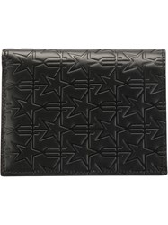 Givenchy Star Embossed Wallet Black