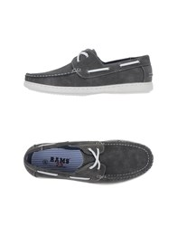 Rams 23 Footwear Moccasins Men Grey