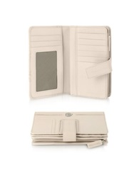 Piquadro Vibe Leather Flap Wallet Powder