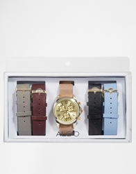 Aldo Mundare Mixed Strap Watch Multicoloured