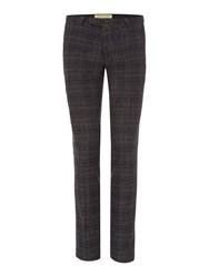 Noose And Monkey Men's Skinny Suit Trouser Grey