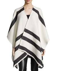Alice Olivia Kayson Oversized Shawl Cream