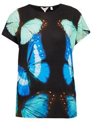 Ted Baker Flutor Butterfly Collective T Shirt Black