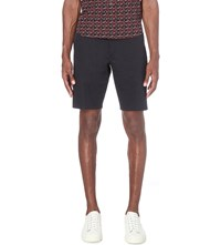 Paul Smith Ps By Slim Fit Stretch Cotton Shorts Navy