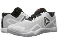 Reebok Ros Workout Tr 2.0 White Cloud Grey Black Pewter Women's Cross Training Shoes Gray