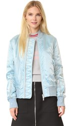 Tim Coppens Ma 1 Bomber Jacket Ice Blue
