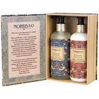 Heathcote And Ivory Morris And Co Strawberry Thief Hand Wash And Hand Lotion Duo Gift Set