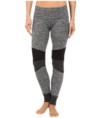 Hard Tail Rolldown Speed Jogger Pants Heather Women's Casual Pants Gray