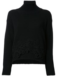 Ermanno Scervino Turtle Neck Jumper Black