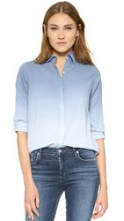 Sundry Ombre Button Down Shirt Denim