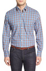Men's Peter Millar 'Tuscany Tartan' Regular Fit Cotton And Wool Flannel Sport Shirt