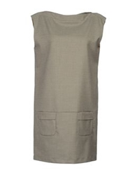 M.Grifoni Denim Short Dresses Grey