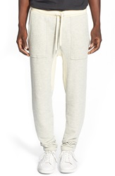 Sol Angeles 'Roma' French Terry Knit Jogger Pants Heather Grey