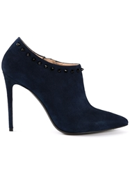 Barbara Bui Spiked Booties Blue