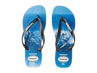 Havaianas Top Photoprint Sandal Black White Blue Men's Sandals