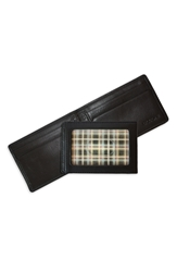 Boconi Bifold Money Clip Black