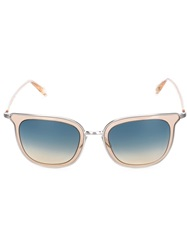 Oliver Peoples 'Annetta' Sunglasses Yellow And Orange