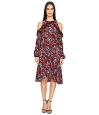 Preen Line Kim Dress Plum Floral Women's Dress Purple