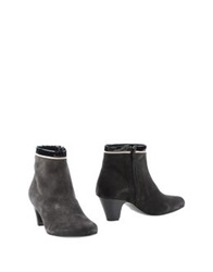 Jancovek Ankle Boots Steel Grey