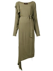 Vivienne Westwood Anglomania 'Balloon' Dress Green
