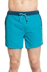 Men's Boss 'Snapper' Swim Trunks Open Blue