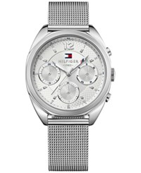 Tommy Hilfiger Women's Sophisticated Sport Stainless Steel Mesh Bracelet Watch 38Mm 1781628 No Color