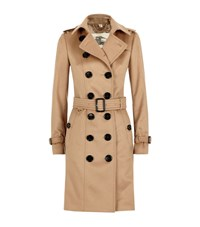 Burberry London The Sandringham Long Cashmere Trench Coat Female Brown