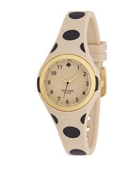 Kate Spade Ladies Rumsey Polka Dot Watch Beige