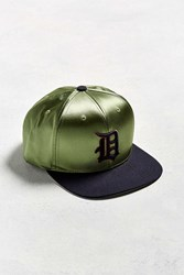 American Needle Babomb Detroit Tigers Baseball Hat Olive