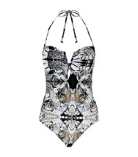 Lily And Lionel Papillio Deep V Swimsuit Female