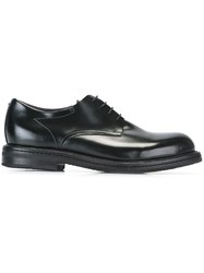 Pantanetti Classic Derby Shoes Black