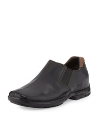 Cole Haan Zeno Leather Slip On Black
