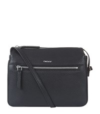 Dkny Tribeca Triple Compartment Cross Body Bag Female Black