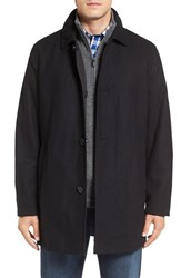 Cole Haan Men's Reversible Wool Blend Car Coat