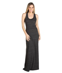 Alternative Apparel Racerback Maxi Dress Eco Black Women's Dress