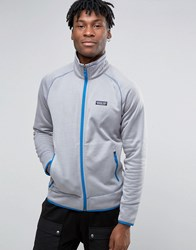 Patagonia Track Jacket In Grey Feather G