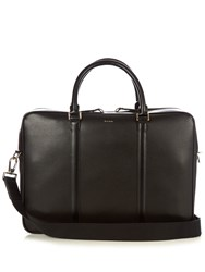 Paul Smith City Embossed Leather Briefcase Black