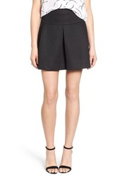 Trouve Women's Trouve Bonded Mesh Skirt