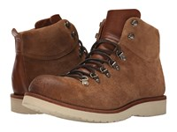 Frye Evan Hiker Caramel Oiled Suede Men's Lace Up Boots Brown