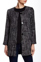 Gibson Houndstooth Topper Petite Black